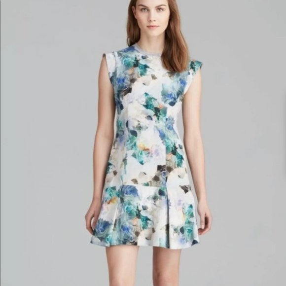 Rebecca Taylor Dresses & Skirts - Rebecca Taylor Drop Waist Floral Sleeveless Dress